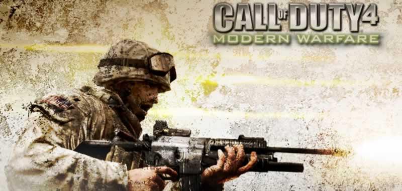 Call of Duty Modern Warfare Banner